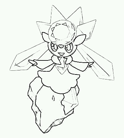 Coloriage Pokemon Zygarde - Dessin et Coloriage