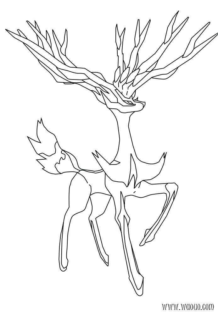 The Best Free Yveltal Coloring Page Images Download From 25 Free