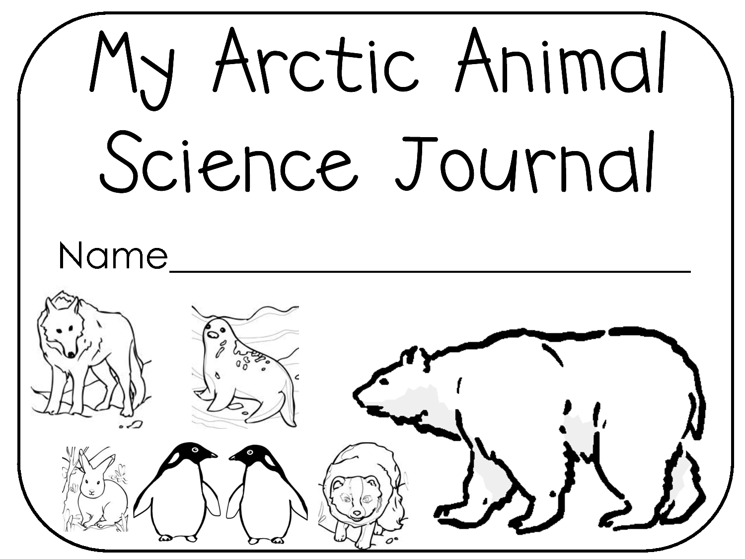 1500x1125 Sid The Science Kid Coloring Pages Arctic Animals Coloring Pages
