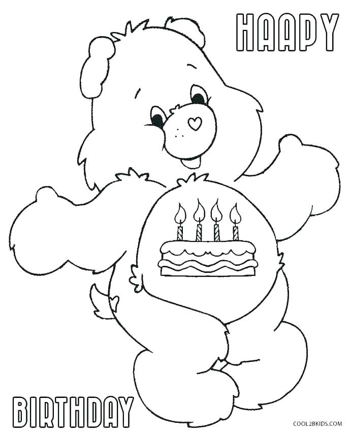 687x850 Coloring Page Of A Bear Polar Bear Coloring Pages For Preschoolers