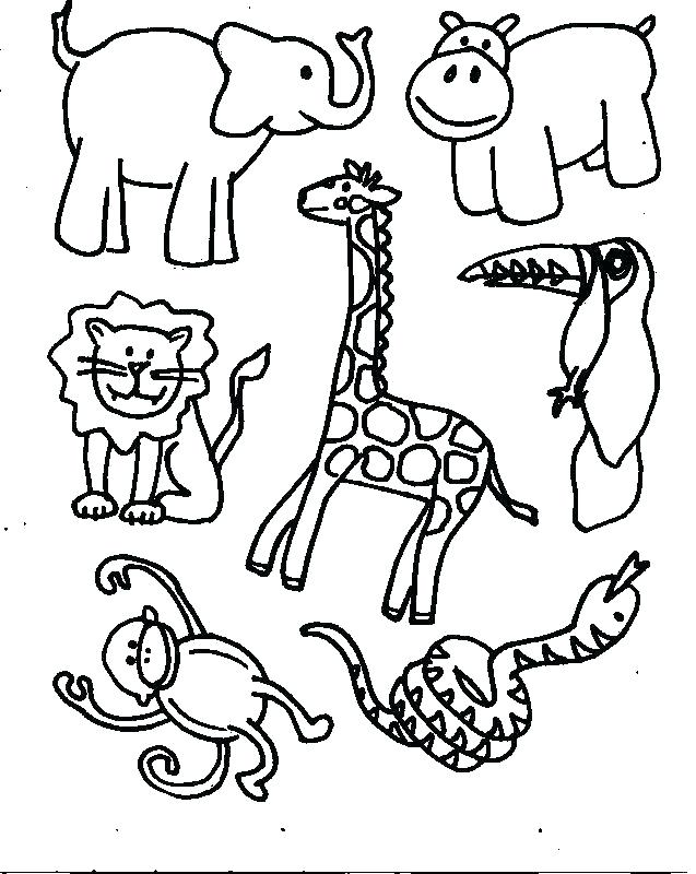637x800 Coloring Pages For Preschool Animal Coloring Pages Preschool S