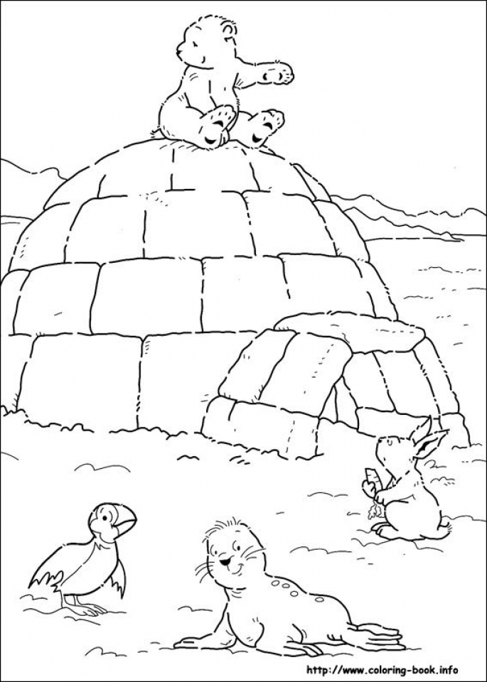 685x960 Get This Free Polar Bear Coloring Pages For Toddlers !