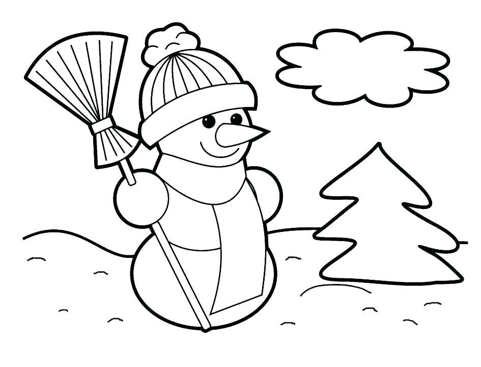 945x720 Polar Bear Coloring Pages Preschool Free For Preschoolers Teddy