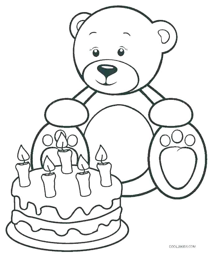675x820 Baby Bear Coloring Pages Baby Teddy Bear Coloring Pages Picnic