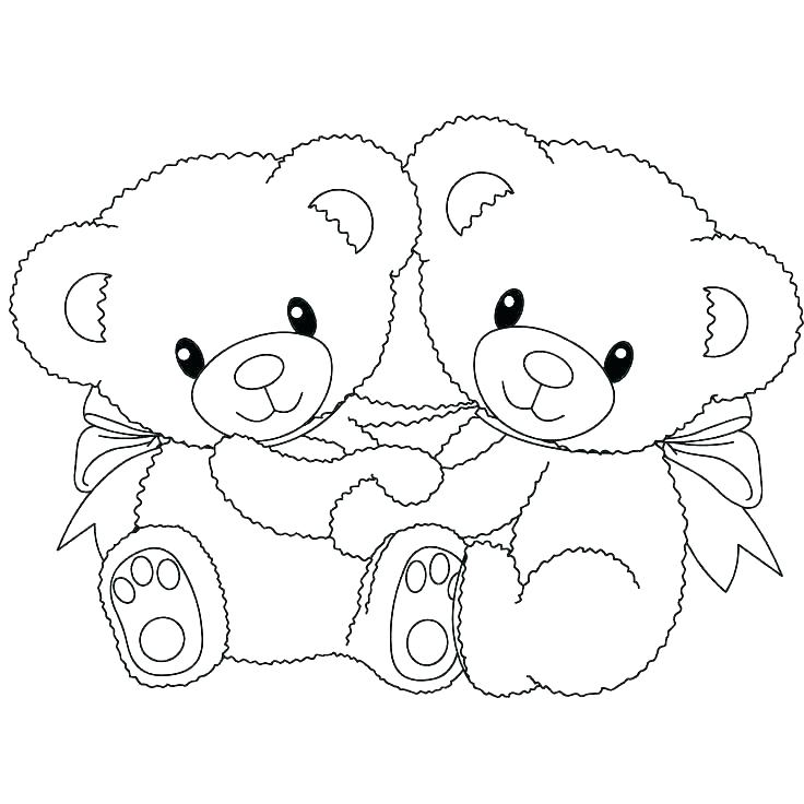 736x736 Polar Bear Coloring Pages