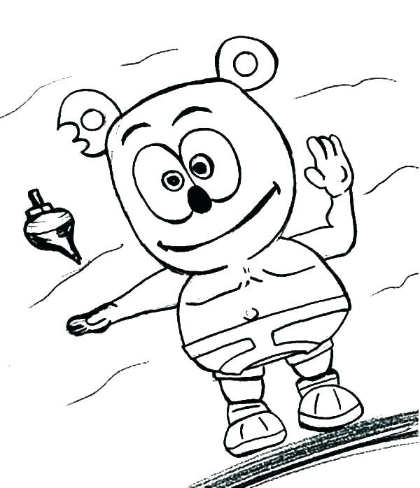 600x698 Bear Cub Colouring Page Pencil And In Color Bear Cub Bear Cub