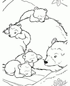 236x289 Angel Riding Polar Bear Coloring Page Fantasy Art Coloring Pages