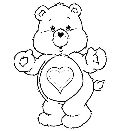 529x554 Polar Bear Pictures To Color Polar Bear Coloring Pages Printable
