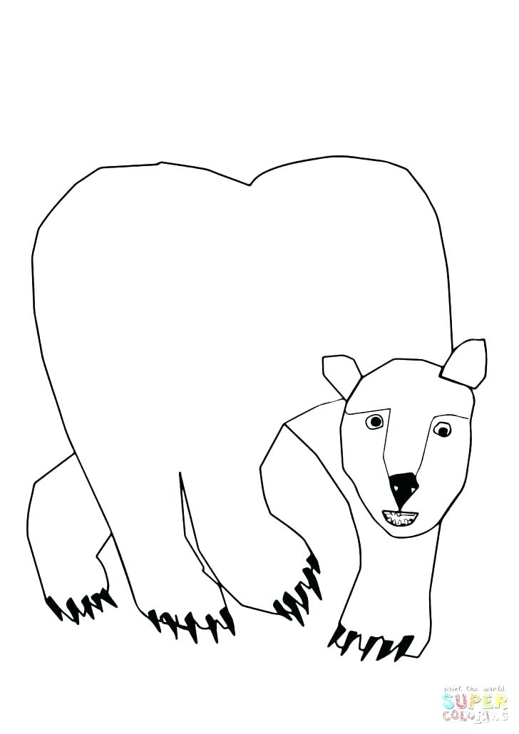 728x1030 Coloring Pages Black Bears Printable Coloring Polar Bear Coloring
