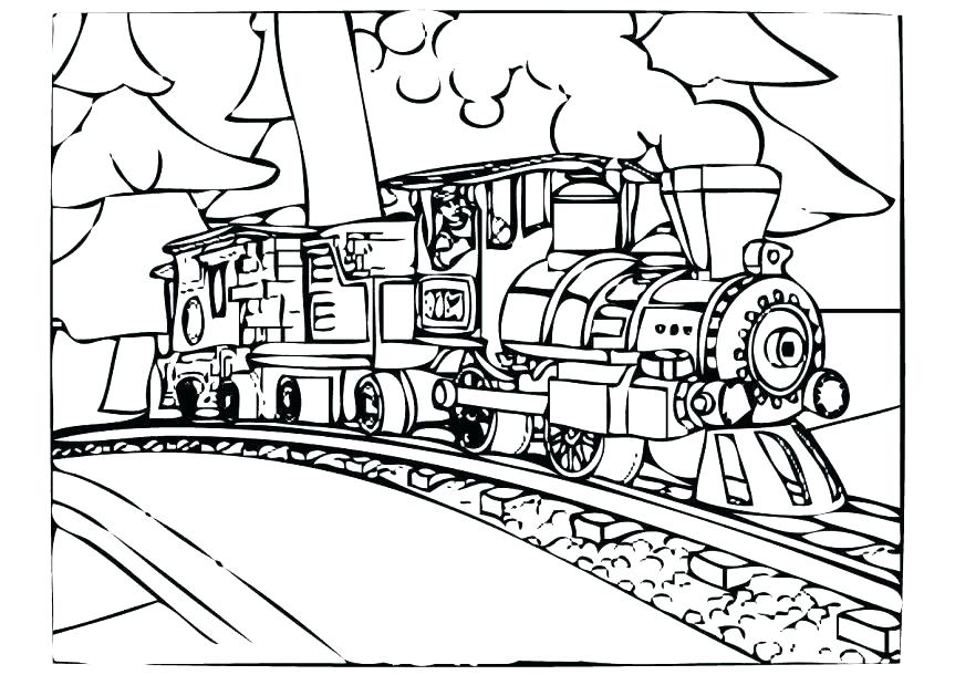 863x610 Polar Express Coloring Pages Kids Coloring Polar Express Coloring