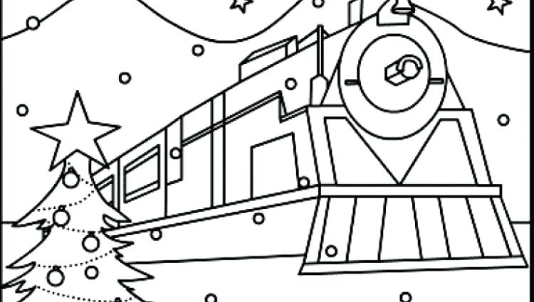 750x425 Polar Express Coloring Pages Polar Express Coloring Pages