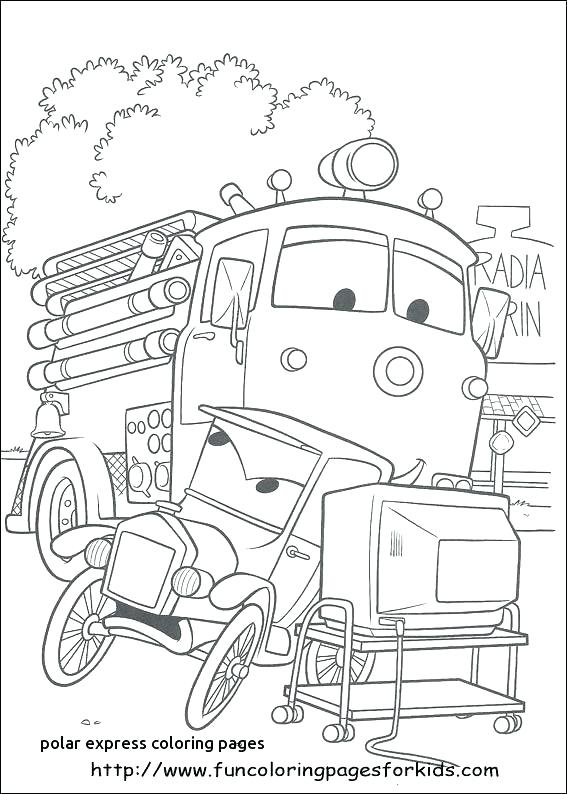 567x794 Polar Express Free Colouring Pages Polar Express Color Pages Polar