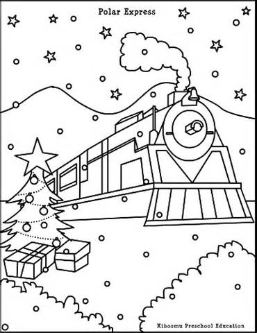 370x480 Polar Express Ticket Coloring Page, Made This Coloring Sheet