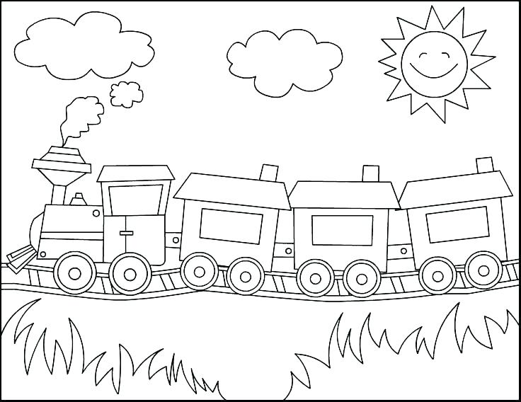 736x568 Potty Training Coloring Pages Stylish Ideas Train Color Pages Free