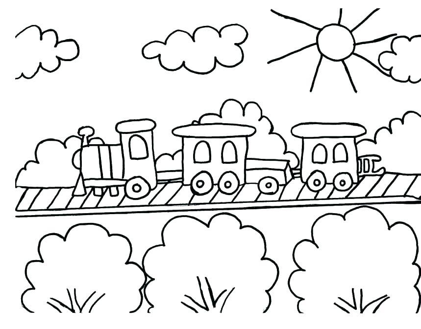 859x673 Polar Express Coloring Page Polar Express Coloring Page Polar