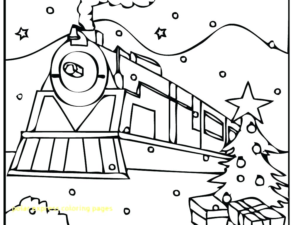 1000x768 Polar Express Coloring Page Polar Express Coloring Page Polar
