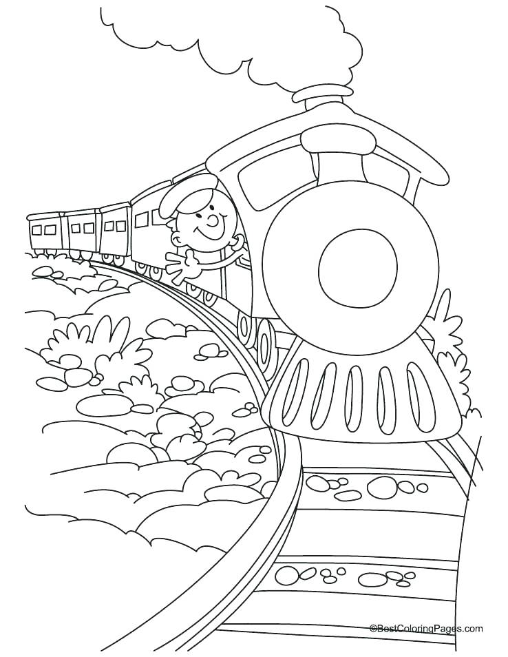738x954 Polar Express Coloring Page Polar Express Train Coloring Pages