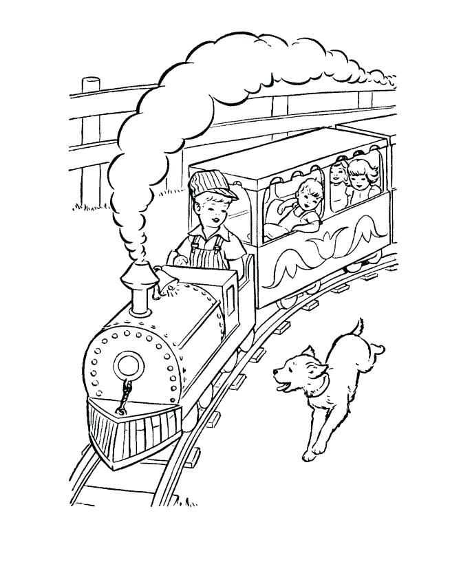 670x820 Polar Express Train Coloring Pages Ticket Page Murs