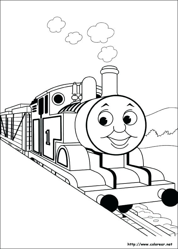 567x794 Tren De Thomas Para Colorear Para Holiday Coloring Pages Polar