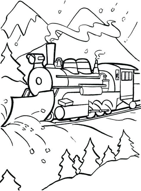 474x640 Tren Expreso Polar Para Colorear Polar Express Para Gratis Polar