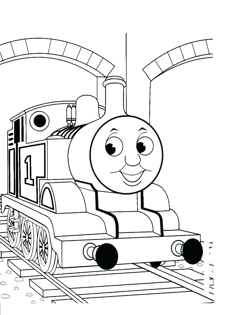 735x1024 Polar Express Train Coloring Pages