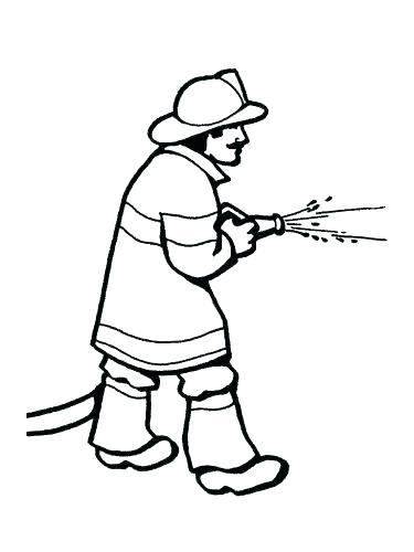 375x500 Firefighter Badge Coloring Page Police Badge Coloring Page Police