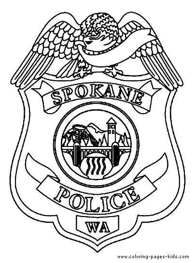 404x544 Police Badge Coloring Page Police Badges Coloring Page Coloring