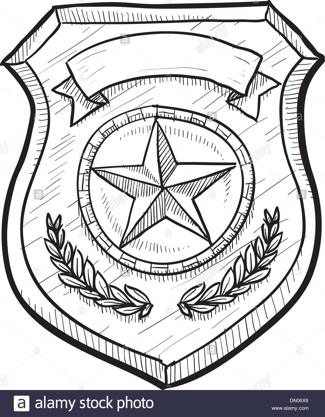 1084x1390 Download Police Badge Drawing Just Arrived Of Coloring Pages