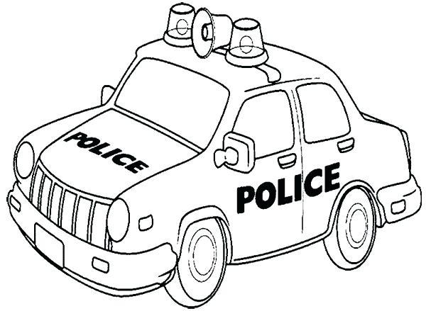 600x439 Police Car Coloring Page Car Police Patrol Coloring Page Police
