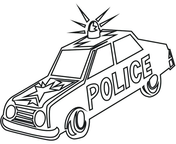 600x491 Police Car Coloring Page Old Car Police Coloring Page Police Car