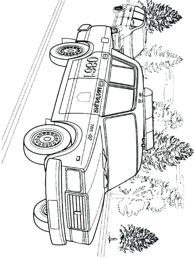 750x1000 Good Police Car Coloring Page Or French Police Car Coloring Page