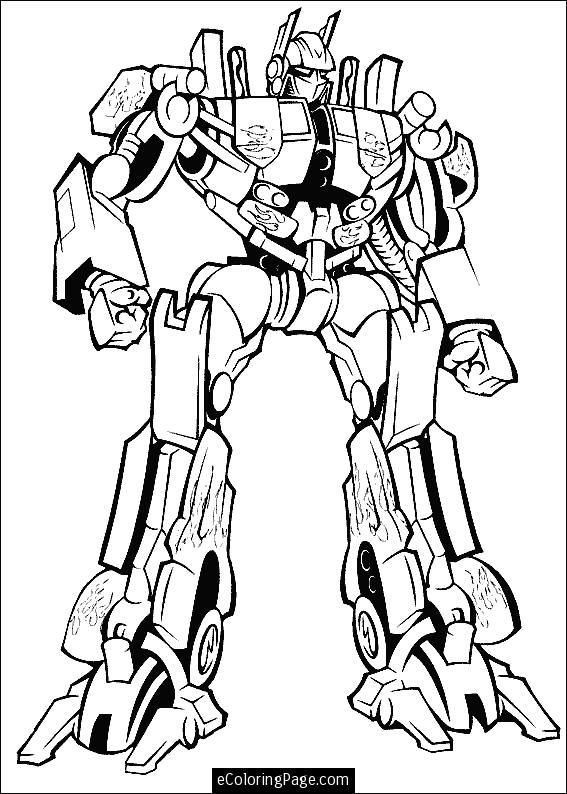 567x794 Transformers Printable Coloring Pages Prime Printable