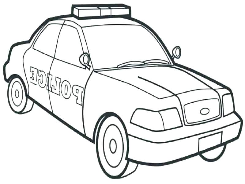 800x600 Police Car Coloring Pages To Print