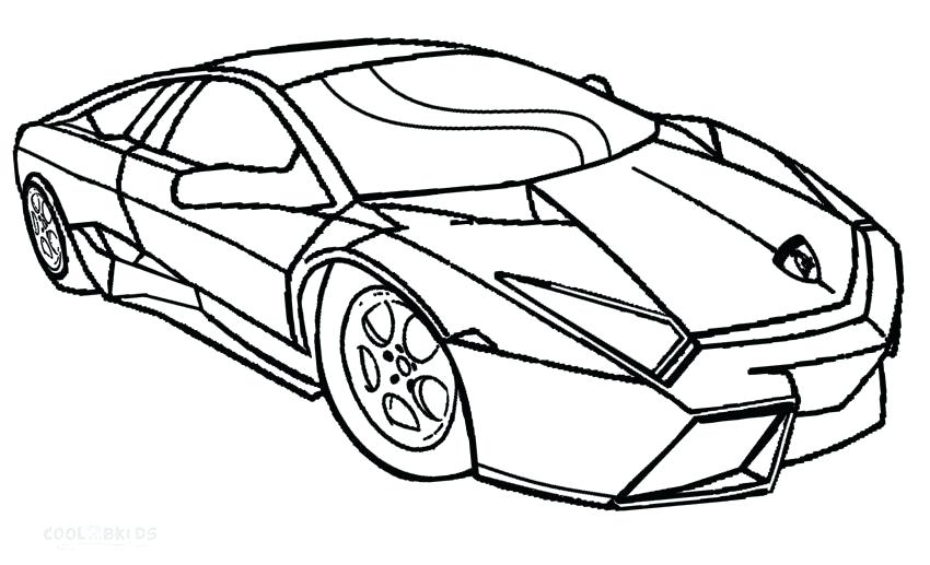 850x517 Car Coloring Pages Lamborghini Printable Coloring Pages For Kids