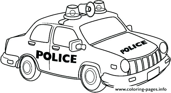 Police Car Coloring Pages To Print at GetDrawings.com   Free ...