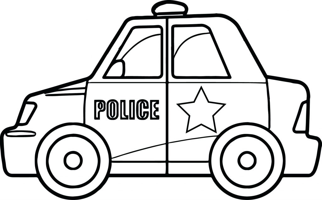 1024x636 Coloring Pages Police Coloring Pages Car Best Of Vehicle