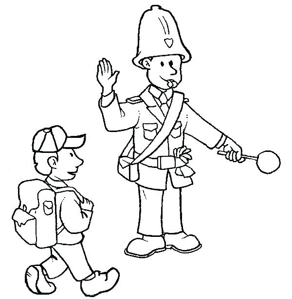 600x616 Lego Police Coloring Pages