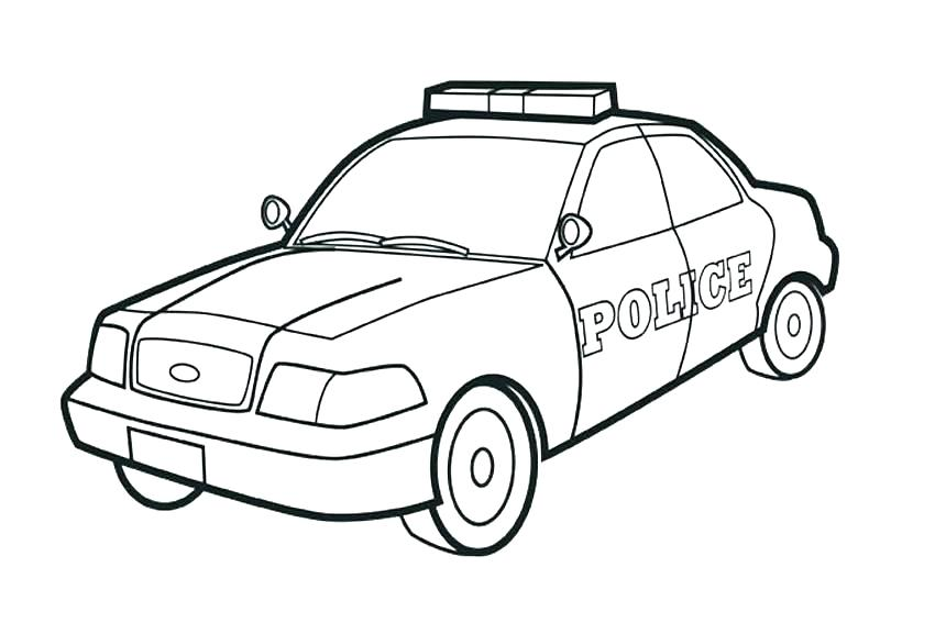 850x567 Policeman Coloring Pages