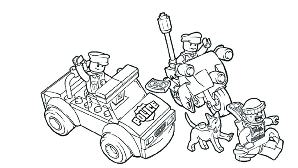 1024x577 Lego City Police Coloring Pages