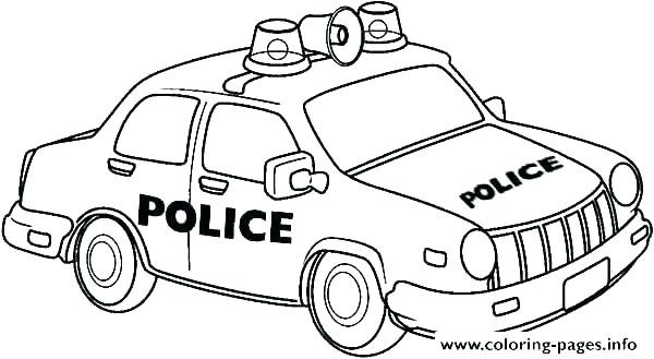 600x329 Car Coloring Pages Car Coloring Pages Printable Lamborghini Police