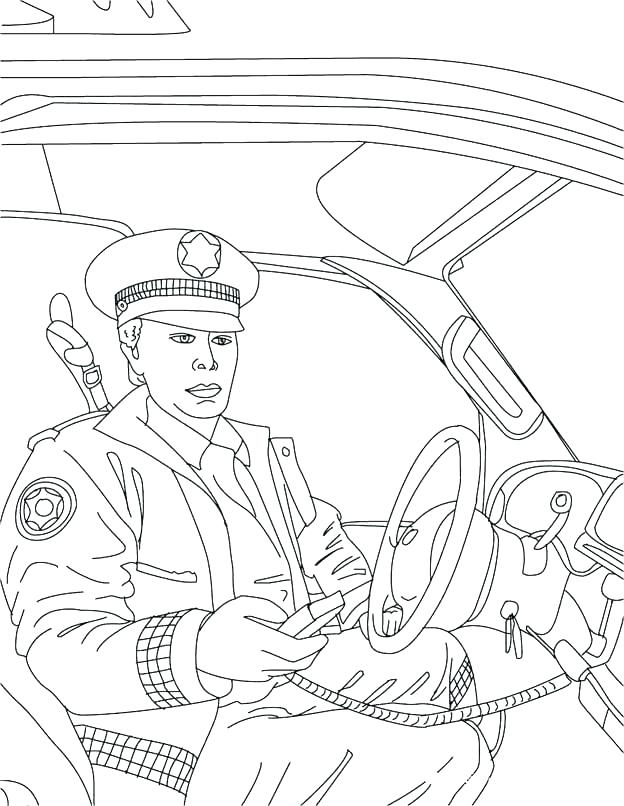 624x806 Policeman Coloring Police Coloring Pages Policeman Coloring Page
