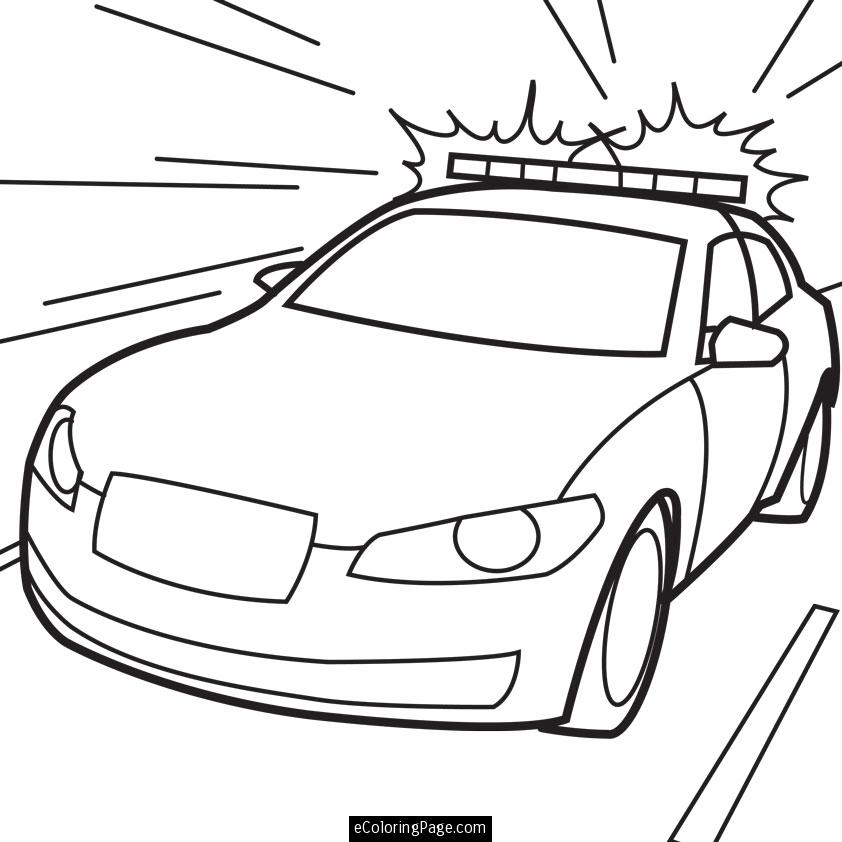 842x842 Printable Police Coloring Pages