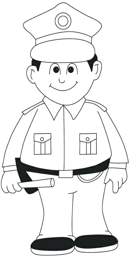420x834 Dog Coloring Pages For Kids Police Coloring Page Police Coloring