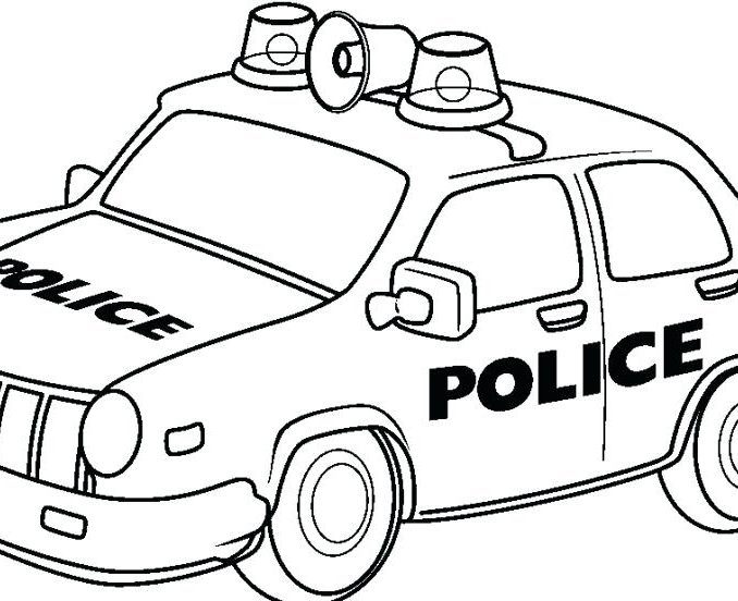 678x552 Police Coloring Pages Free Coloring Page
