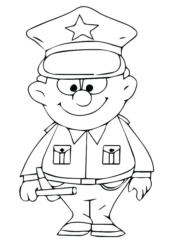 595x842 Police Colouring Pages Police Coloring Pages Police Coloring Pages