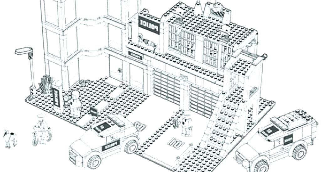 1024x551 Lego Coloring Pages City