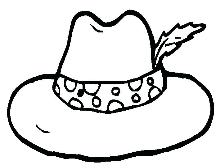 696x534 Police Hat Coloring Page Hat Coloring Pages Police Officer Hat