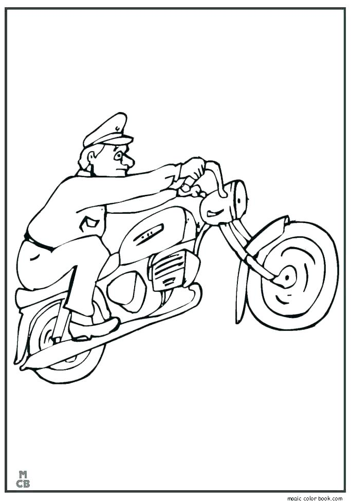 685x975 Motorcycle Coloring Pages Printable Coloring Pages Of Motorcycles