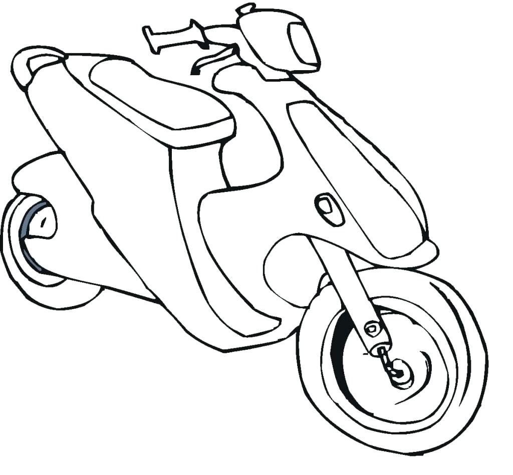 1024x948 Coloring Pages Motorcycle Coloring Pages Bike Page