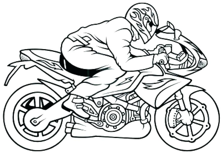 878x612 Coloring Pages Motorcycle Motorcycle Coloring Pages Packed